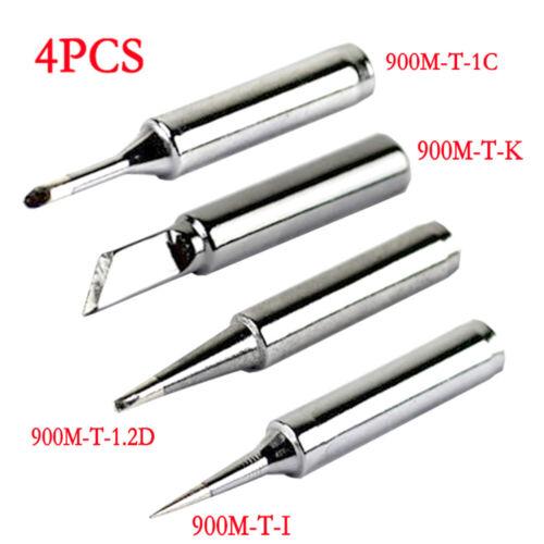 1C 1.2D K I  Solder Iron Tips For 936 937 Soldering Rework Station 4PCS 900M-T