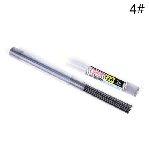 2Stücke HB 0,7 mm mit Fall für Druckbleistift ZP 2B Mine Refills Rohr 0,5 mm