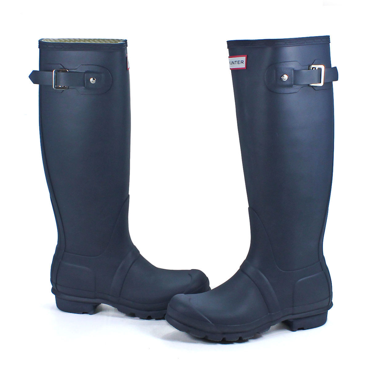 Hunter Original Tall Wellington Wmn's Boots WFT1000RMA Welly Navy SZ:5-11 *NIB*
