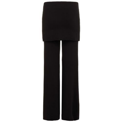 DANCER PANT von hut und berg balance weite Yoga Damenhose mit Rock schwarz