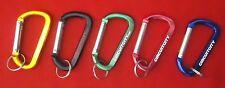 Vintage Circuit City Carabiner Keychains Set of 5 Red, Blue, Green, Black & Gold