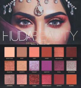 Huda Beauty Desert Dusk Edition Textured Eye Shadows Palette 18 Colours UK Stock