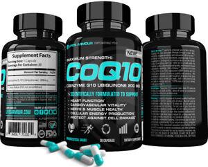CoQ10-Ubiquinone-Coenzyme-Q10-Heart-Antioxidant-Anti-Aging-Softgels-200mg