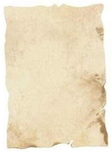 Urkundenpapier Dokumentenpapier Antik A4 21x29,7 cm 10 Blatt 1m²=9,51€