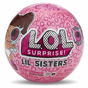 LOL SURPRISE LIL SISTERS Eye Spy Series Ball Dolls Big ...