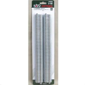 Kato-2-181-Rail-Droit-Straight-Track-Concrete-Tie-369mm-4pcs-HO