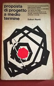 Proposal Of Project A Medium Term - Editori Riuniti 1977