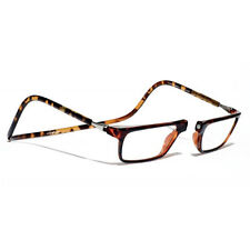 Clic Executive Tortoise Reader Eyeglasses Full Rim Magnetic Reading Glasses