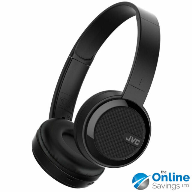 JVC Plegable Bluetooth Auriculares Externos - Negro (HA-S40BT-E)