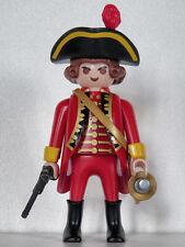 Playmobil soldat anglais - guerre de 7 ans - Wolfe - Canada - Québec #3 - custom