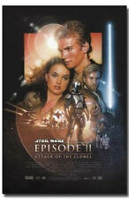 STAR WARS EPISODE II ATTACK OF THE CLONES POSTER -22 x 34 SHRINK WRAPPED - 2560