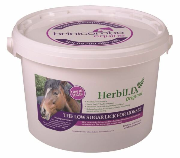 Brinicombe Herbilix Originale Equini Cavallo Anche Gli Integrativi, Supporti E Giocattoli Alta Resilienza