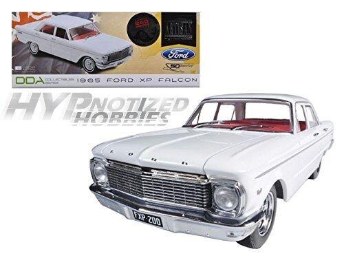 Grünlight - 1,18 1965 ford xp falcon w   mag räder die-cast weiße dda003-b
