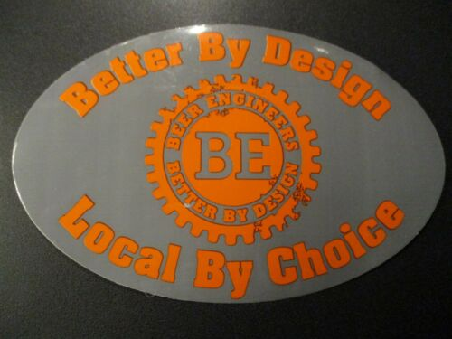 BEER ENGINEERS Birmingham Alabama STICKER decal craft beer brewery brewing