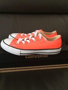 1b9c835251b14 Converse All Star - modèle Orange flashy - pointure 33