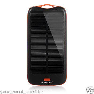 Solar Panel Charger Dual-Port External 10000mAh High Capacity Poweradd™ Apollo2