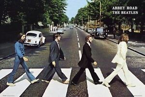 Beatles - Abbey Road - Maxi wall Poster - 61 cm x 91.5 cm LP0597 wall chart