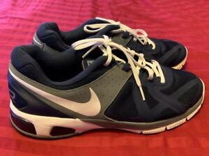 e2f872013a75f Details about Nike Men's Blue Gray White Max Run Lite 5 Size 10 631263-401