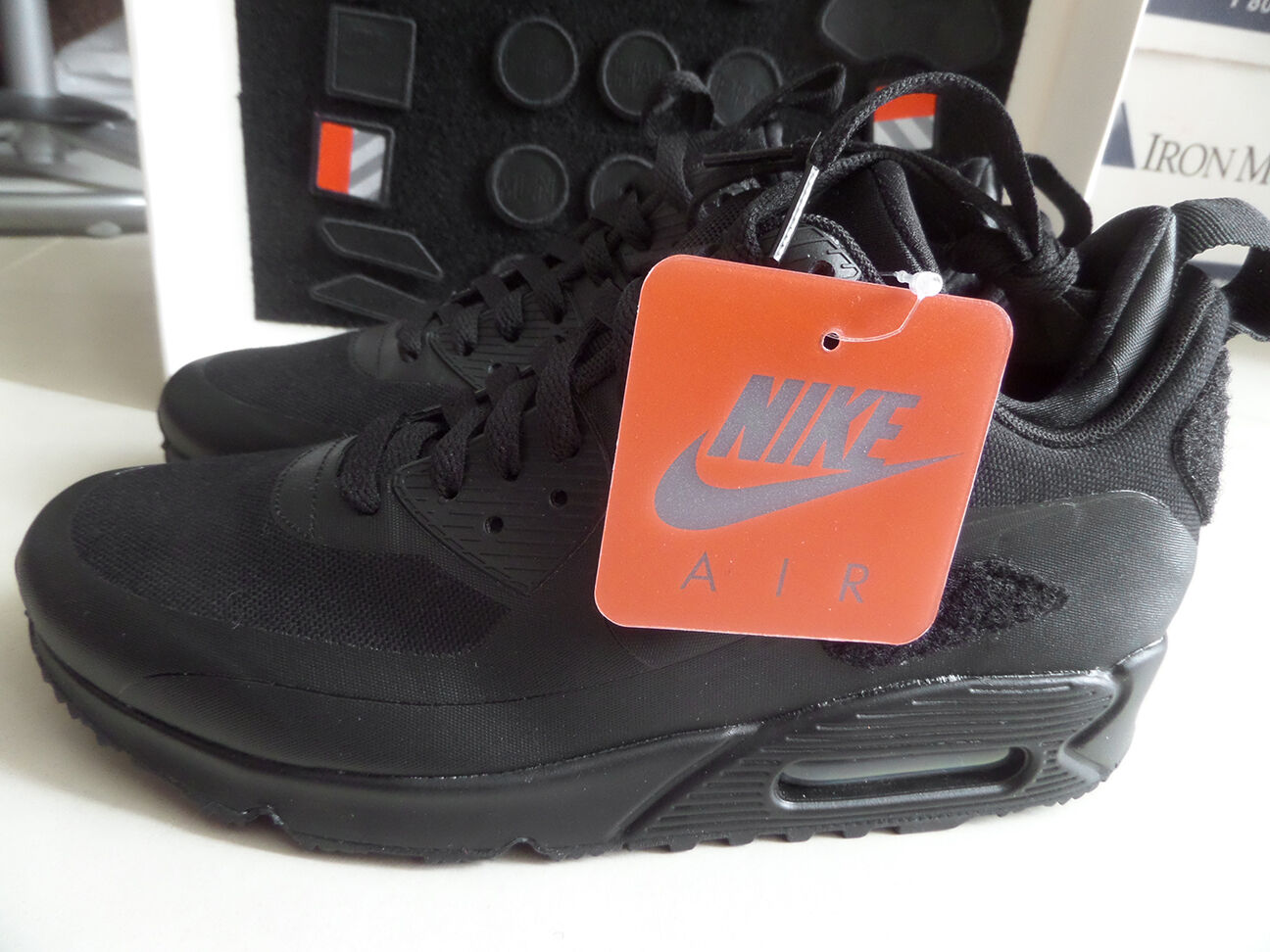 67b004642e0 100% Auth Nike Air Max 90 Sneakerboot SP 'Patch' Black/Black sz 7 ...