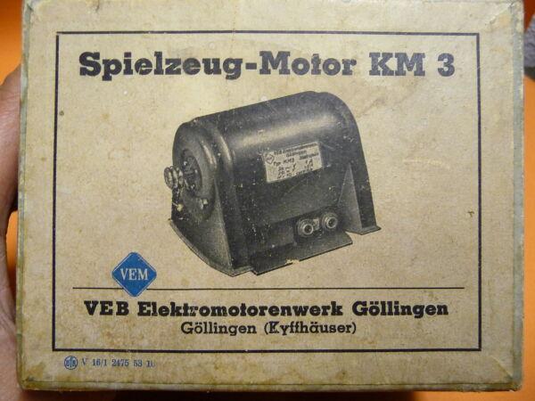 Ddr Spielzeugmotor Km 3 Ovp 50er Jahre Motor Generator Damo ZuverläSsige Leistung