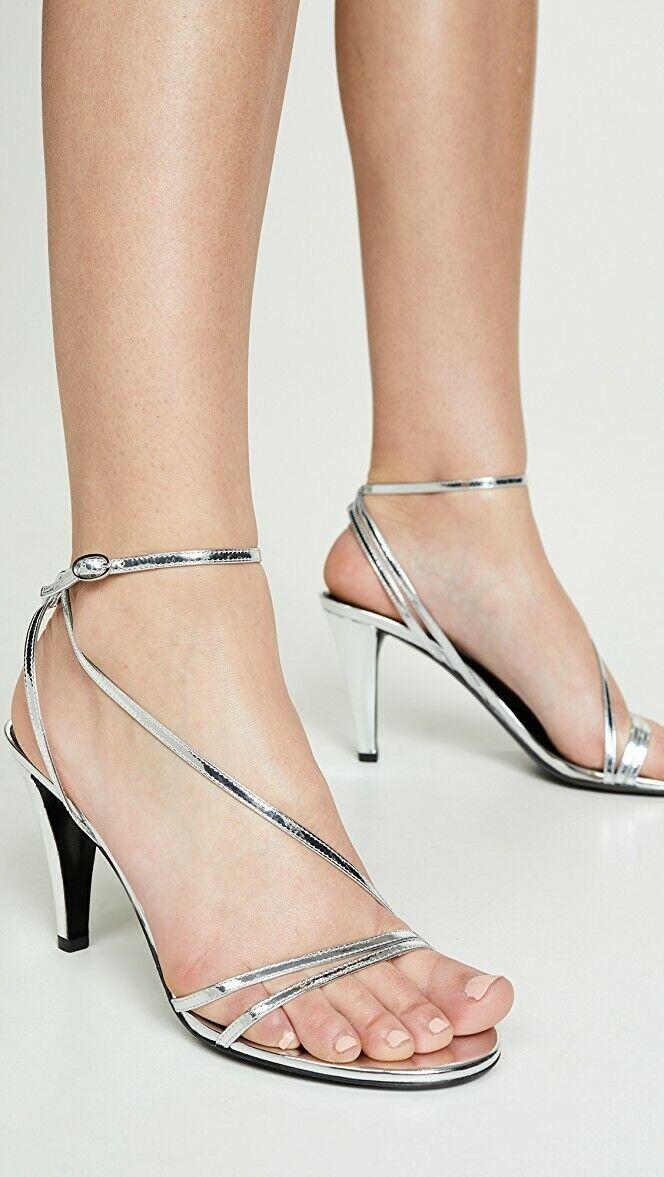 NIB Isabel Marant Arora argento Sandals Heels Sz IT 40   divertiti con uno sconto del 30-50%