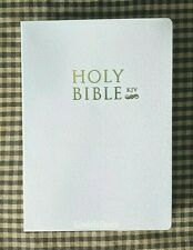 The Holy Bible King James Version Old & New Testaments White / GET FREE BIBLES
