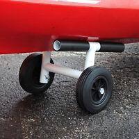 Kayak Dolly:aluminum Canoe Kart Cart Tote Trailer Wheel Pvc Carrier Doly Gheenoe
