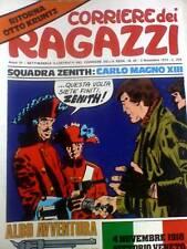 Il Corriere dei Ragazzi 44 1974 Agente senza nome TUIS