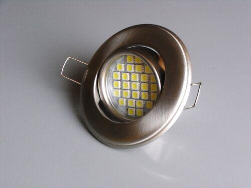 LED SMD Einbauleuchte Einbaustrahler Deckenleuchte GU10 4,7W = 50W warmweiß Neu