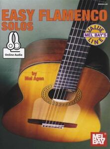 Easy Flamenco Solos De Guitare Tab Music Book With Online Audio-afficher Le Titre D'origine