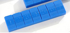Tupperware 7-Day Pill Vitamin Advil Keeper Bold N Blue Color Braille Too! New