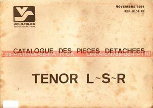 VELOSOLEX-TENOR-L-S-R-Catalogue-des-pieces-de-rechange-detachees-VELO-SOLEX