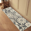 thumbnail 6 - Maidste Floral Hooked Gray/Ivory Rug