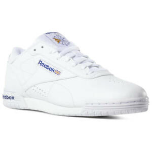 Details about Reebok Exofit Lo Clean Logo Int AR3169 Men's Ex o Fit White Royal Blue