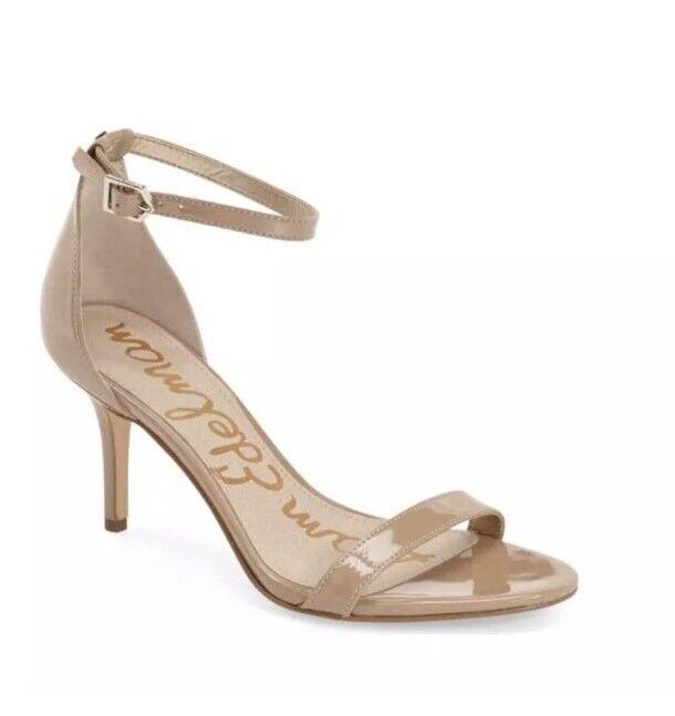 prezzi bassi Sam Edelman Patti Donna  Patent Leather Classic Classic Classic Nude Sandal Sz 10W 2065  in cerca di agente di vendita