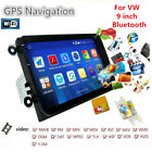 1024x600 For VW 9'' Android GPS Navigation Car Stereo FM Radio Bluetooth WIFI