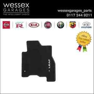 Genuine Nissan Leaf ZE0E Floor Mats Velour Set of 4 RHDKE7553NL10