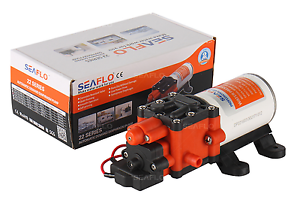 NEW SEAFLO 22-Series High Pressure Water Pump 1.3GPM for RV Boat 12v 100PSI