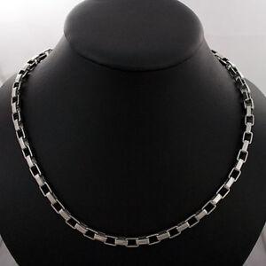 lange-Edelstahl-Halskette-im-Gliederdesign-60-cm-Kette-Gliederkette-poliert-neu