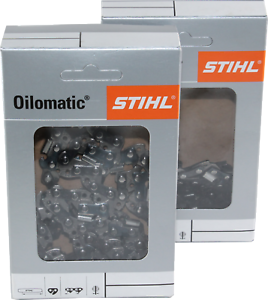 MS230 012 2 Stihl Sägeketten Rapid Micro 325-62E-1,6 für 40cm STIHL 25 MS231