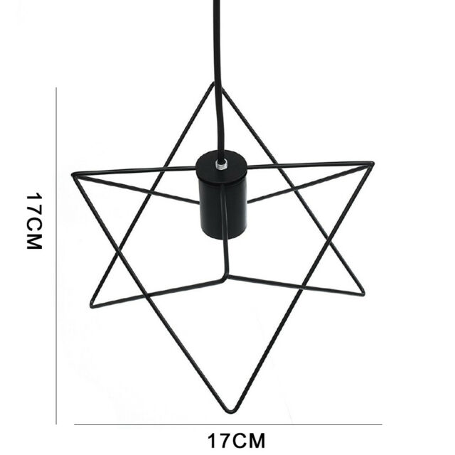 metal wire cage hanging lamp shade plug in ceiling chandeliers pendant  light new