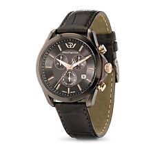 Philip Watch BLAZE CRONOGRAFO R8271665003 orologio uomo PVD marrone/pelle APR16