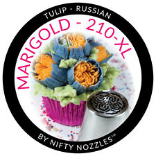 Nifty Nozzles Marigold Nozzle 210XL Genuine Russian Flower Piping Nozzle