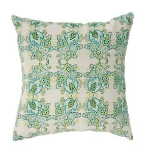 Floral Features Square Pillow Set Two Pc  Home Decor Soft Contemporary