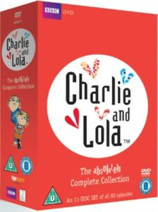 Nuovo-Charlie-And-Lola-The-Absolutely-Collezione-Completa-Cofanetto-DVD