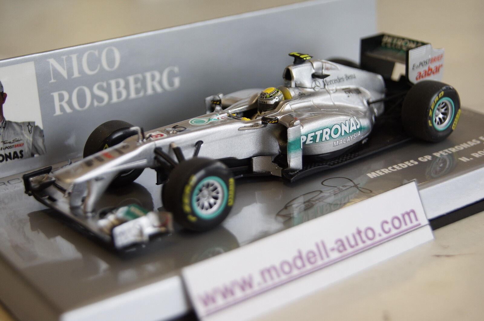 economico e di alta qualità Formula 1 2011 MERCEDES GP PETRONAS f1 f1 f1 squadra N. Rosberg 1 43 Minichamps NUOVO & OVP  fino al 60% di sconto