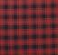 CUMBERLAND PLAID PANEL SET BUFFALO RED BLACK CHECK CABIN LODGE CURTAIN DRAPES
