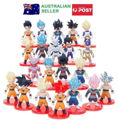 Dragon Ball 21 Piece Figurine Set Cake Toppers Lot Pce Son Goku Vegeta Vegetto