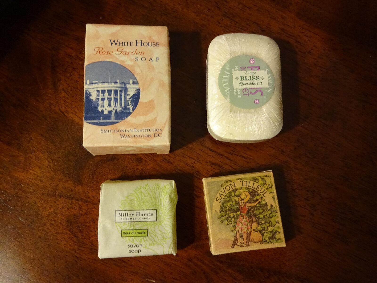 White House Rose Garden Soap-Vintage Bliss Soap-2 Mini Soaps New Lot ...