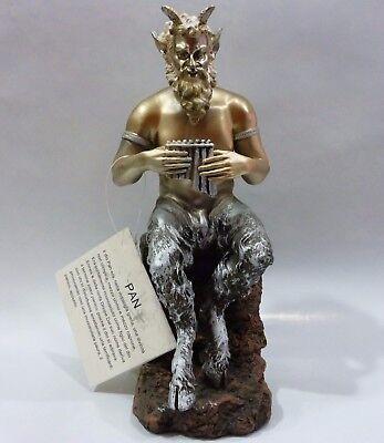 Greek Mythology Statue Pan Faunus God of the Wild  Figure - Sculpture Satyr